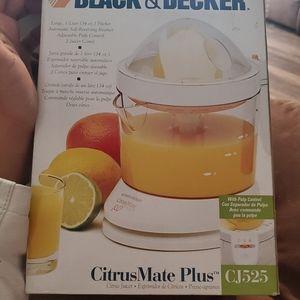 Black and decker citrus mate plus juicer